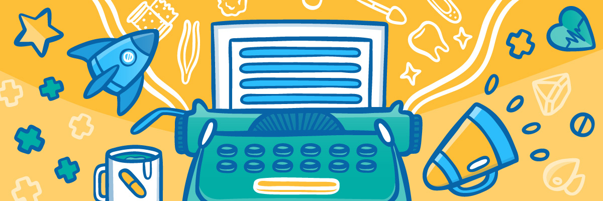 Typerwriter and rocket